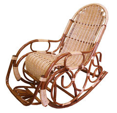 Кресло-качалка Ведуга Люкс с подножкой