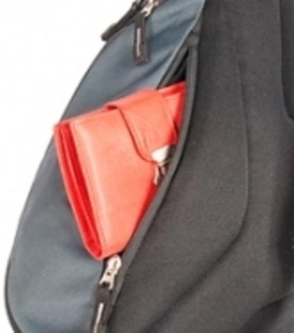 Картинка рюкзак однолямочный Deuter Tommy S Black-Orange - 3