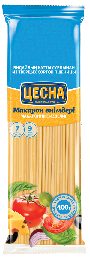 Макаронные изделия ЦЕСНА GOLD Спагетти 400гр
