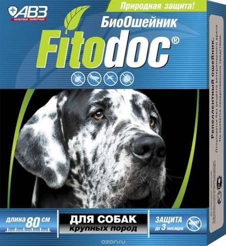 Фитодок ошейник для собак крупных пород
