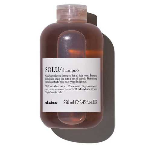SOLU/shampoo - Активно освежающий шампунь для глубокого очищения волос