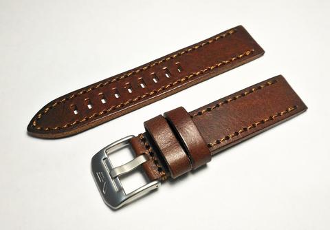 Ремешок кожаный для часов Восток Европа Алмаз 320H263