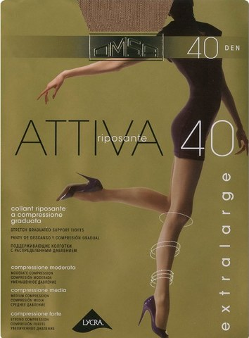 Attiva 40 XXL OMSA колготки