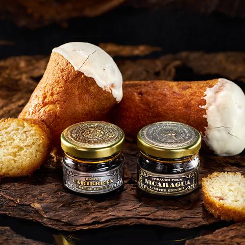 Табак WORLD TOBACCO ORIGINAL (WTO) Nicaragua Rum Cake (Ромовый пирог Никарагуа) 20 г