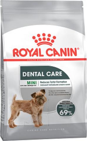 Royal Canin Mini Dental Care сухой корм для собак мелких пород с повышенной чувствительностью зубов