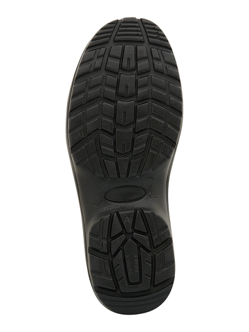 Полуботинки (сандалии) черные BICAP OS 5551/7B 1S1 из микрофибры с пефорацией