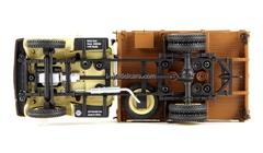 GAZ-51A board 1955 sandy-brown DIP 1:43