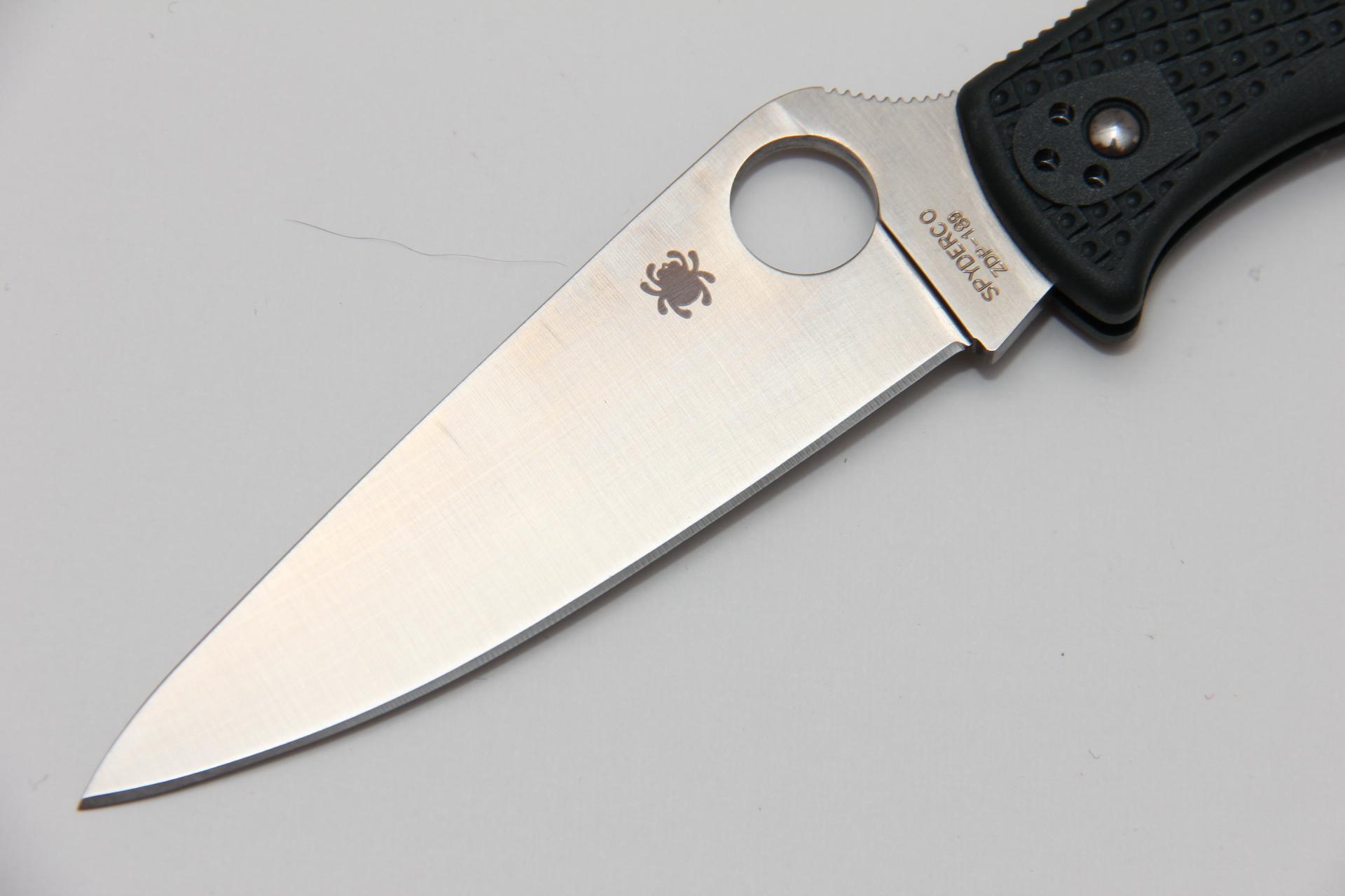 Нож Spyderco Endura 4 SC10PGRE ZDP-189 - фотография