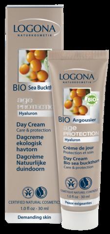 LOGONA Age Protection Крем дневной питательный против морщин с Био-Облепихой