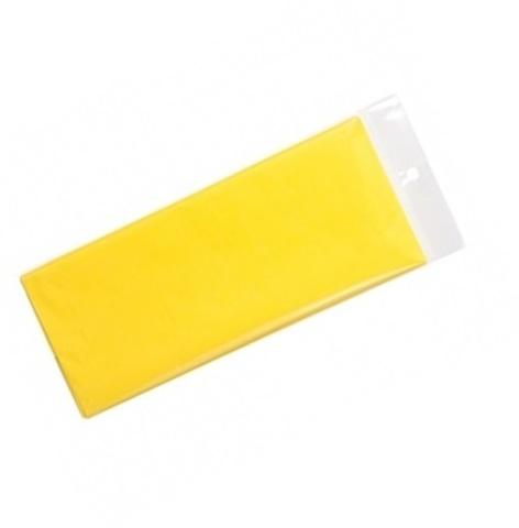 Бумага тишью 10 шт., 50x66 см, цвет: лимонный