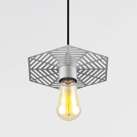 Подвесной светильник 50167/1 серебряный
