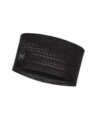 Повязка на голову спортивная со светоотражающими нитями Buff Headband Dryflx R-Black