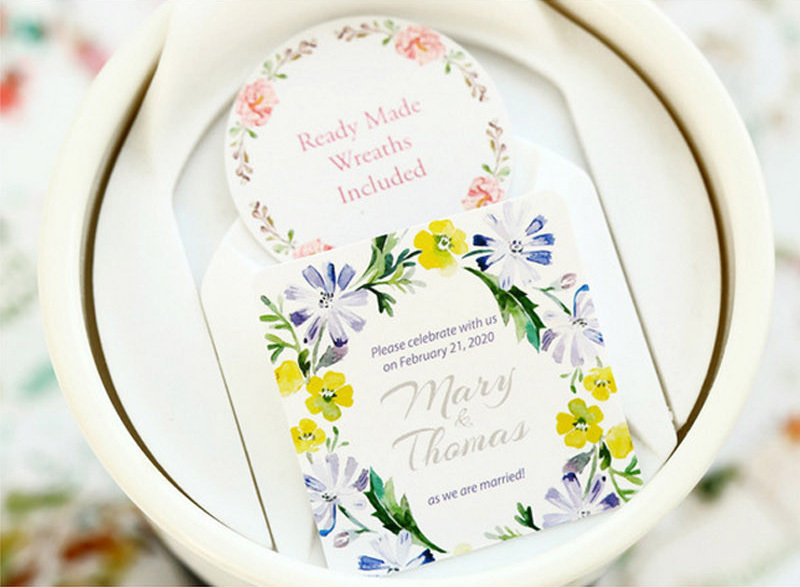 Стикер Свадебные мотивы