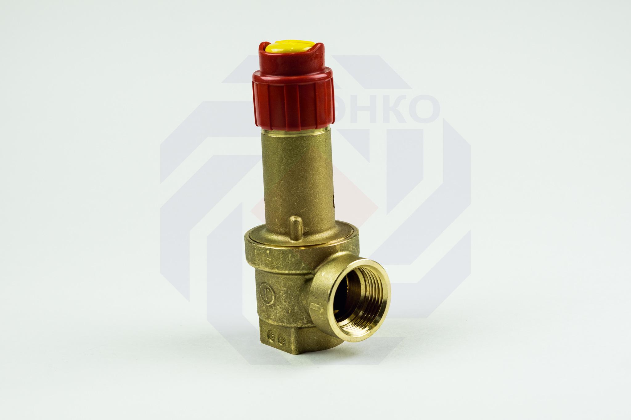 Клапан предохранительный GIACOMINI R140 6 бар 1