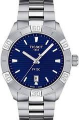 Мужские швейцарские наручные часы Tissot T101.610.11.041.00