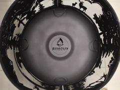 Чаша для костра FireCup Очаг Малый с кольцом Тайга