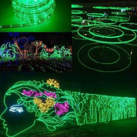 LED light дюралайт зеленый купить бухту шланга зеленого цвета света