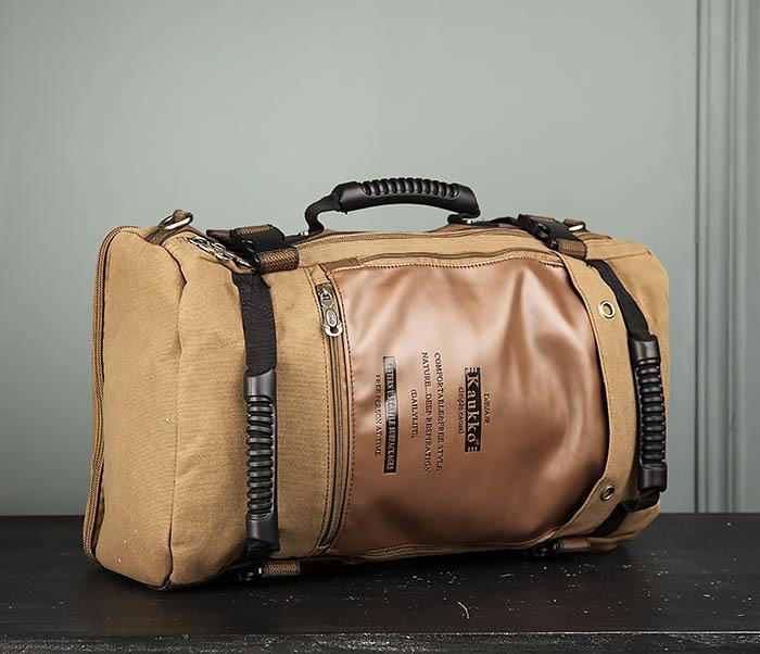 BAG365-2 Рюкзак-трансформер из плотного текстиля фото 03