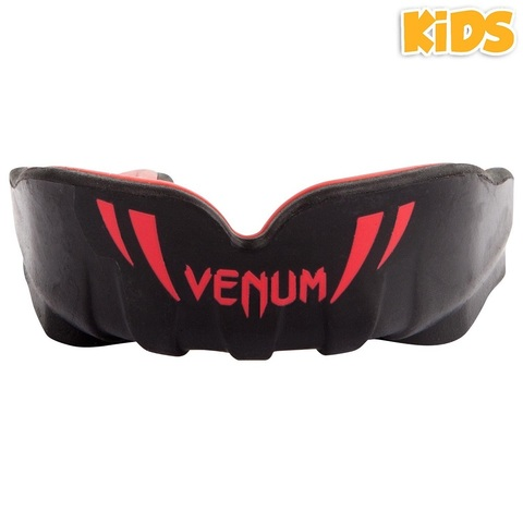 Капа для детей Venum Challenger Kids Mouthguard - Black/Red