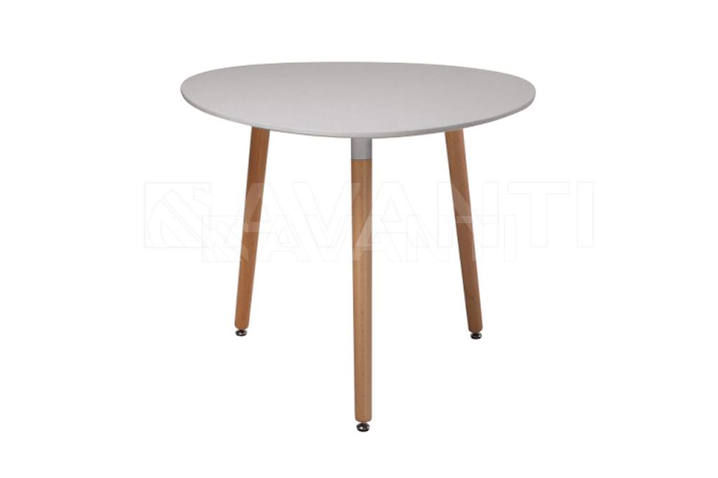 Стол обеденный SIRIO (D90x74) - серый