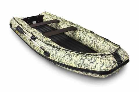 Надувная ПВХ-лодка Солар - 420 К Vegа (пиксель)