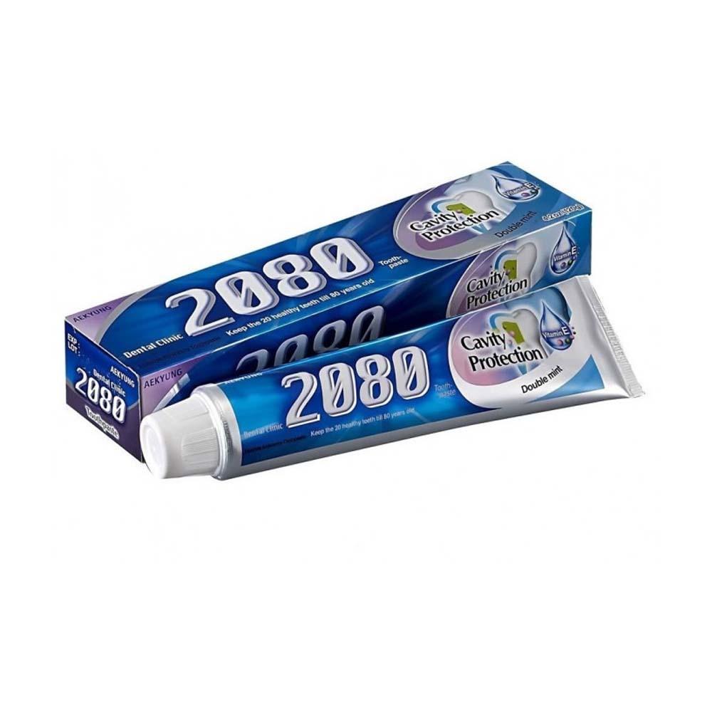 Зубная паста 2080 натуральная мята с фтором и витамином Е