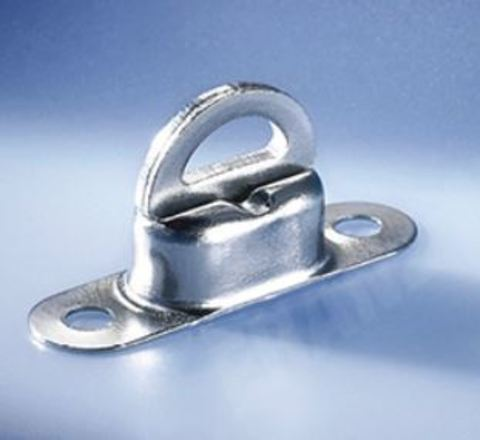 Скоба малая поворотная 22,5 х 13,5 мм, никель 11 мм