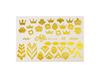 Фольга для дизайна ногтей цвет золото 38 купить за 120руб