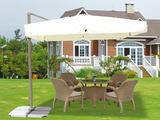 Зонт от солнца на боковой опоре Luxe 3 м Cream