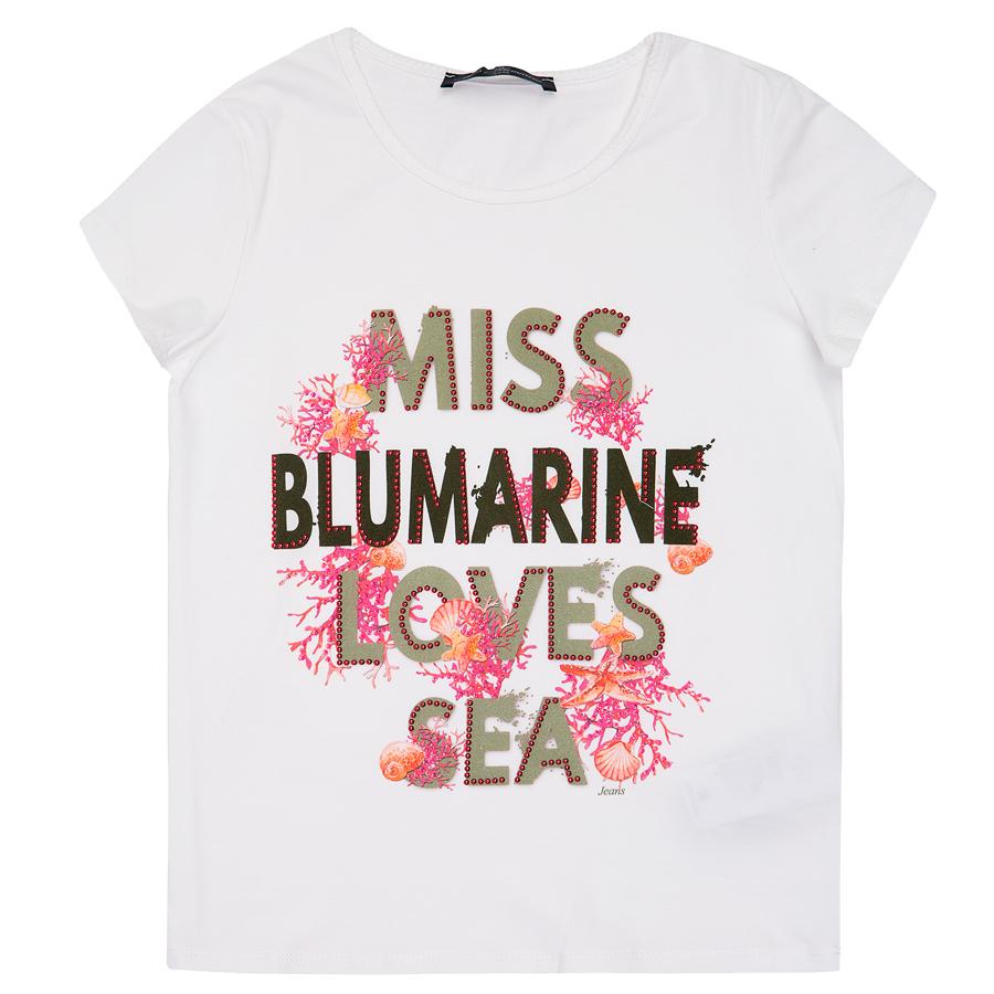 Футболка для девочки Miss Blumarine