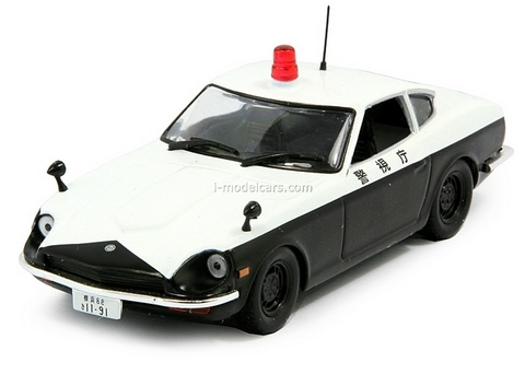 Datsun 240Z (Nissan Fairlady Z S30) Japan 1:43 DeAgostini World's Police Car #5
