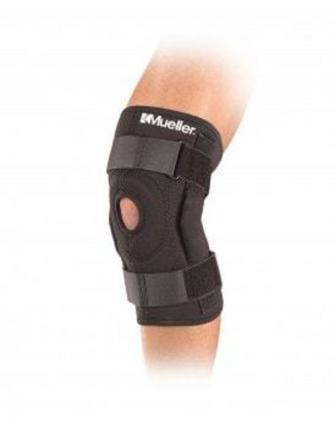 3333 REG Hinged Wraparound Knee Brace Шарнирный бандаж-обертывание на колено Черный Regular 30-40