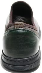 Кожаные кеды - модные туфли мужские Luciano Bellini