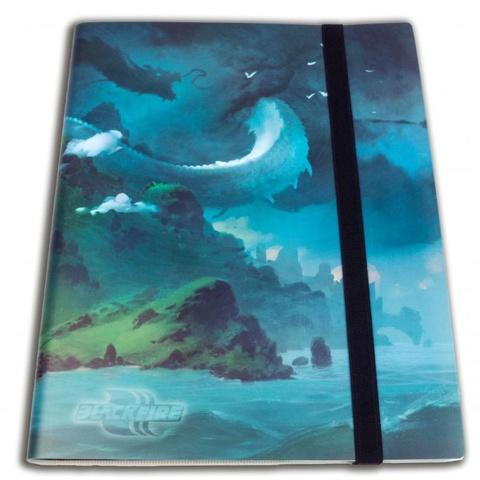 Альбом Blackfire c 20 встроенными листами 3х3 - Island