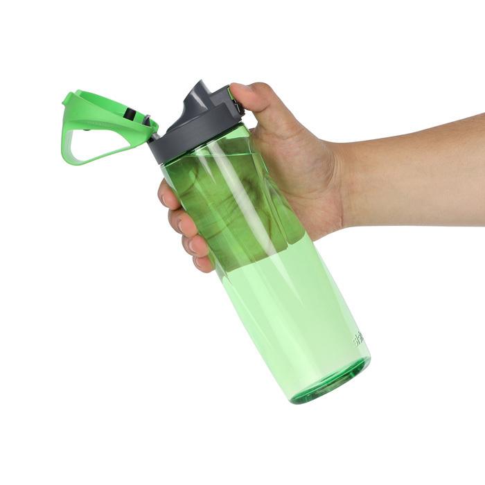 """Бутылка для воды с кнопкой Sistema """"Hydrate"""", Тритан, 900 мл, цвет Зеленый"""