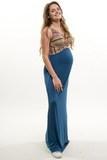 Платье для беременных 09724 синий