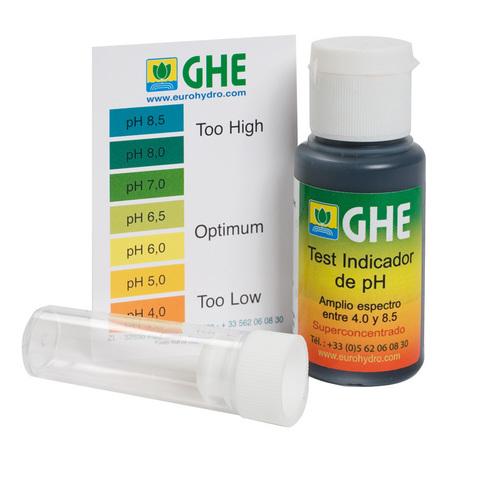 Жидкий pH тест GHE 30 мл