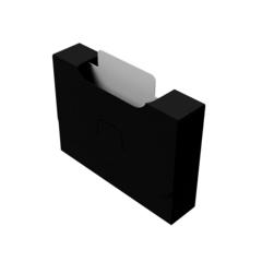 Органайзер для карт Uniq Card-File Standard - 20 mm (чёрный)
