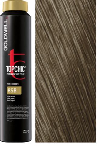 Goldwell Topchic 8SB серебристый блонд TC 250ml