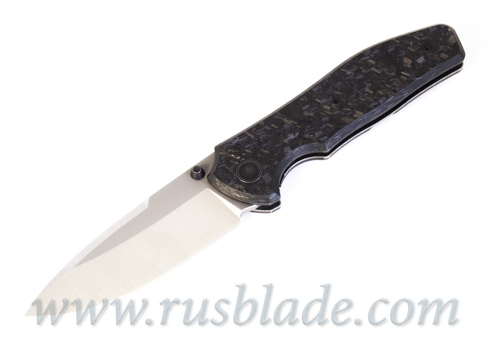 CKF/Yeti Chimera collab knife (M390, Ti, zirc, cool CF, zircuti clip) - фотография