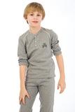 Теплый домашний костюм для мальчиков GrigioPerla