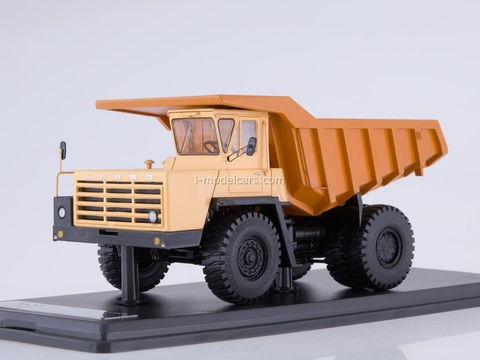 BELAZ-540A dumper yellow-orange 1:43 Start Scale Models (SSM)