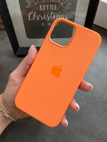 Чехол Iphone 12 pro Max Silicone case original quality /kumquat/