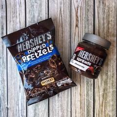 Шоколадная паста Hershey's spreads chocolate 368 гр