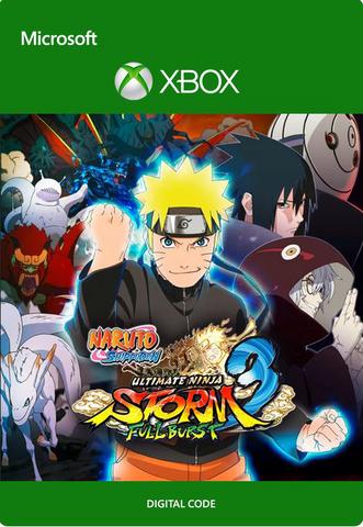 NARUTO SHIPPUDEN: Ultimate Ninja STORM 3 Full Burst (Xbox One/Series S/X, цифровой ключ, русские субтитры)