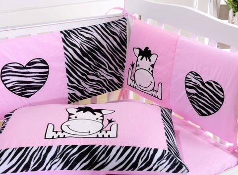 Комплект постельного белья  в кроватку с бортиком ТМ Вальтери Россия DK-10