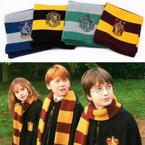 Шарф Гарри Поттер с логотипом