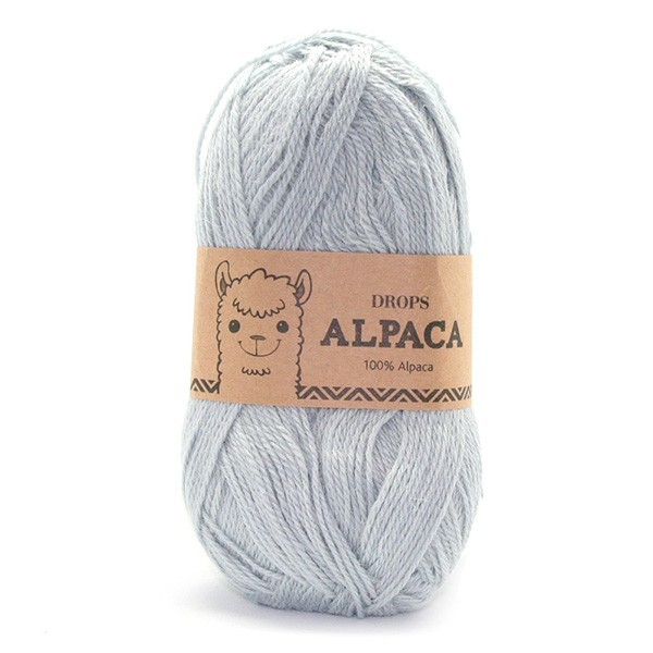 Пряжа Drops Alpaca 8105 небесно-голубой