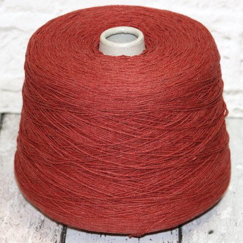 Смесовка с хлопком и льном FASHION MILL / GOLF 450 кирпично-красный