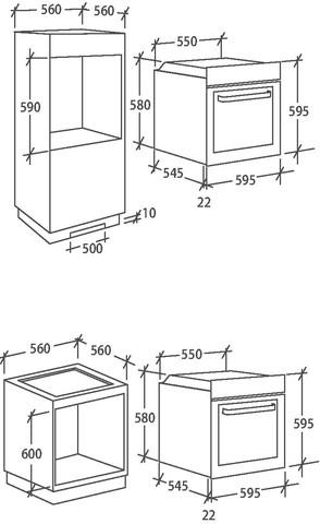 Духовой шкаф Candy FCE625XL/E